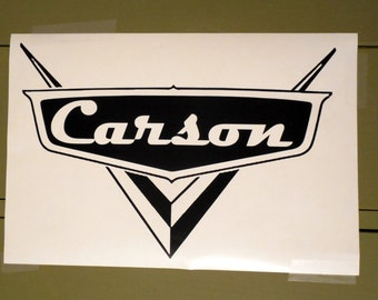Disney Cars Vinyl Decal