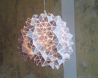 Geodesic Hanging Light Sculpture