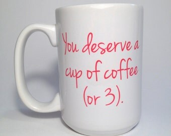 Custom Coffee Mug, Personalized Gift