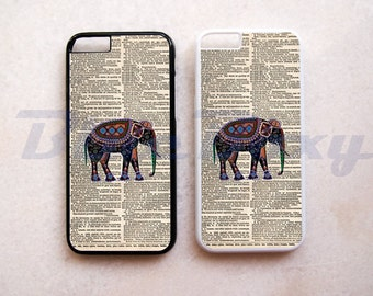 Elephant on Dictionary - iPhone 8, iPhone X, iPhone 7, iPhone 7 Plus, iPhone 6/6s, iPhone 6 Plus, iPhone 5/5s, iPhone 4/4s, iPhone 5C