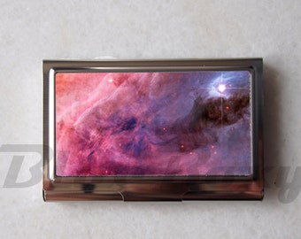 Galaxy Nebula - Card Holder, Business Card Case, Credit Card Case
