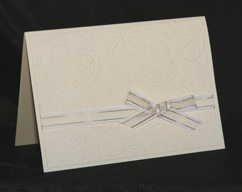 Paisley Greeting Card Set - 5 Cards w/ Envelopes