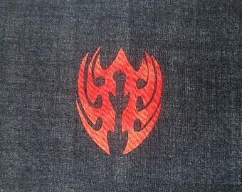 Tribal Blade Quilt Applique Pattern Design