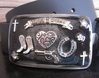 embellished belt buckle Cowboy boots horse shoe heart cross stars pistol belt buckle mens  belt buckle engraved  belt buckle women's buckles