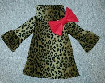 Elke Fleece Dress - Size 1