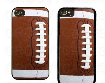 iPhone 4 4s 5 5s 5c SE Case Rubber Football