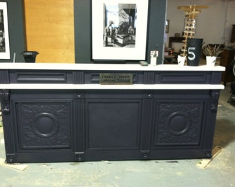 8 Ft. Retail Counter with Signature Ledge ORDER NOW.