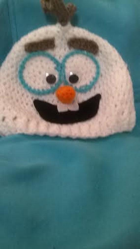 Frozen inspired OLAF hat