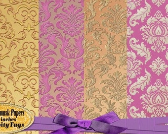 Elegant Damask Papers 2