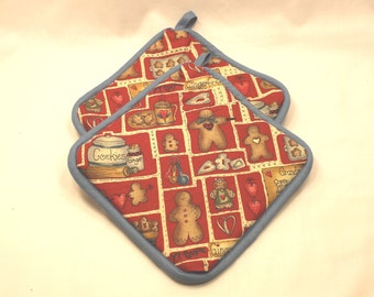 Grandma's Cookies Pot Holders/Hot Pads - Great Gift for Grandma!  Thick - Kitchen/Housewares Item - Gifts under 15