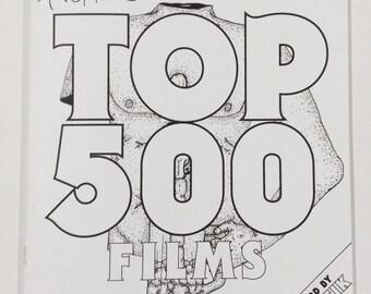 Tromeric's Top 500 Movie Activity Book Zine