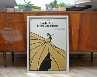 Uncle Acid & The Deadbeats | A2 screenprint | limited edition of 40