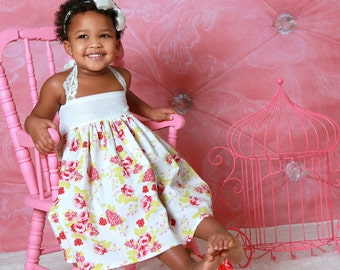 Faith  top/tunic or dress sizes 3months to - 12 years pdf Pattern  All Sizes Included