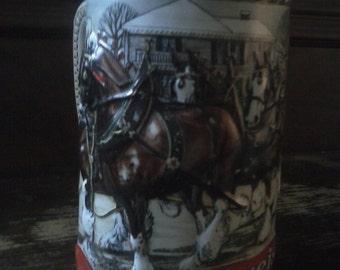 vintage ceramarte Budweiser mug 1986