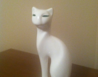 60s art deco cool kitty cat