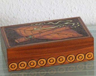 Cigar box cigar box cigar case cigar box wooden storage