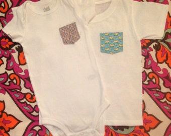 Child S Vineyard Vines Pocket T Shirt Baby Pocket Tee