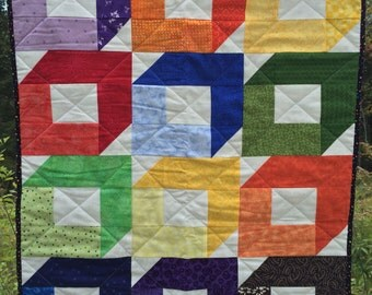 Quilt for Car Seat, Stroller, Tummy Time or Wall Hanging