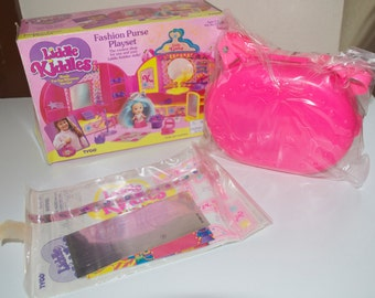 Liddle Kiddles Fashion Purse Playset 1994 Tyco Mini Doll