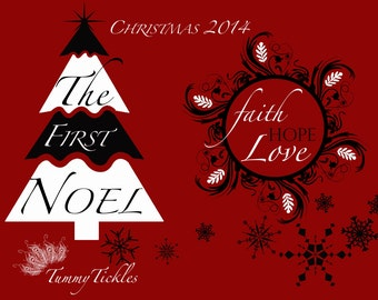 Merry Christmas 2014 Overlays