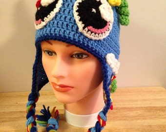 Crocheted My Little Pony Rainbow Dash Hat