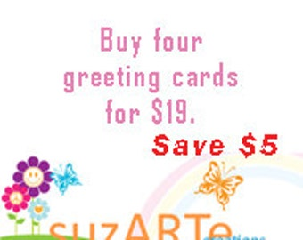 Special offer for greeting cards