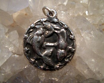 Astrology Medallion ~Sterling Silver~ Hand Cast   Request your Choice