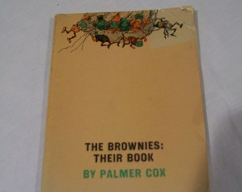 Vintage 1964 edition of  The Brownies: Their Book by Palmer Cox
