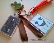 Creepypasta Handmade Art Keychains -- Slenderman