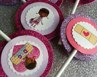 Doc McStuffing Cupcakes Toppers