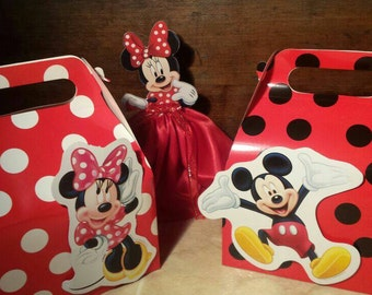 Mickey Mouse Boxes / Minnie Mouse Boxes