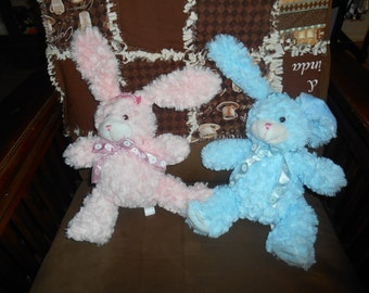 Its raining Easter Bunnies at my house and they may be monogrammed for your special someone just in time for Easter.