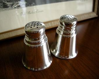 Sterling Silver Salt & Pepper Set ~ c. 1900 - 1940