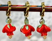 A Rose by Any Other Name Knitting Stitch Markers