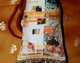 Custom Printed Basil Aromatherapy Sachet
