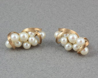 Akoya Pearls, Akoya pearl Earrings, Akoya Pearl Earrings Gold Large, Brides Maid Jewelry, Wedding Pearls
