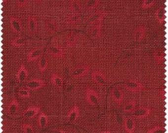 Folio - Burgundy by Henry Glass (7755-88) Cotton Fabric Fat Quarter