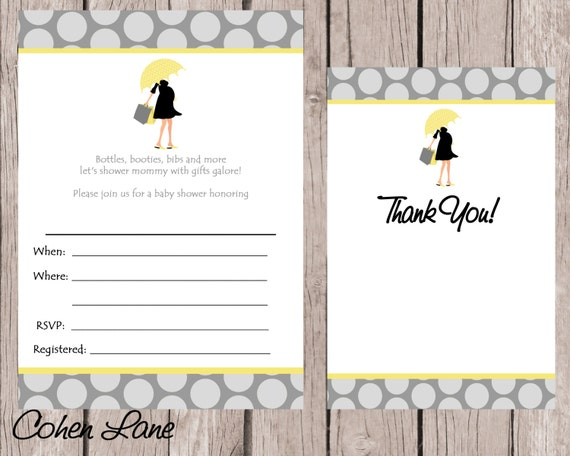 instant download fill in baby shower invitation fill in invitations
