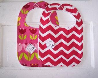 Sweet Tulip Baby Girls Bib Set !  FREE SHIPPING !!!!!