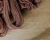 Nylon Beading Cord, 1mm, 10m, 11yds, Chocolate Brown, Nylon String, Macrame, Jewelry Supplies
