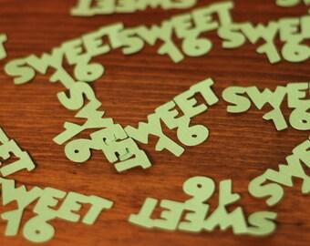 Sweet 16 Confetti- Set of 50