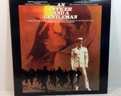 An Officer & A Gentleman Soundtrack vinyl record 80s ZZ Top Dire Straights Pat Benatar Joe Cocker Van Morrison