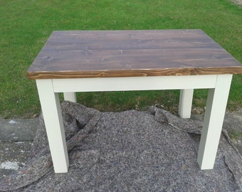 Chunky rustic reclaimed timber Dining Table
