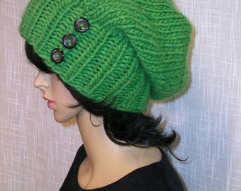 Hand knitted Hat.Women.