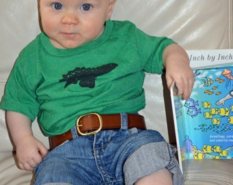 Handmade Leather Childrens Belts, Baby Belts, Toddler Belts. Includes Solid Brass Buckle.