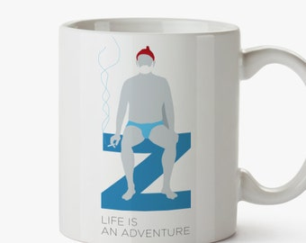 Steve Zissou Mug - Tribute to Life Aquatic-Wes Anderson