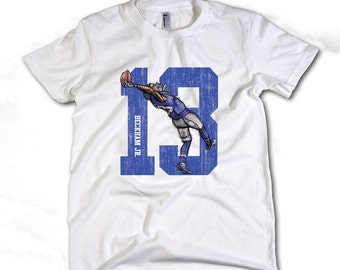 New York Giants Youth Odell Beckham Jr. Caricature T-Shirt - Sale ...