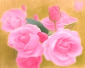 "Original Pastel drawing ""Roses"""