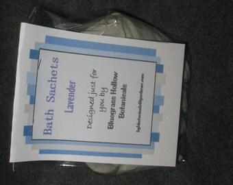 Lavender Bath Sachets