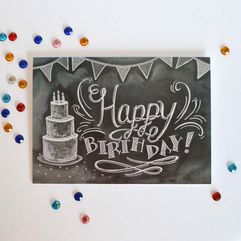 Birthday Card Unique Birthday Card Happy Birthday to You – Birthday Card Art